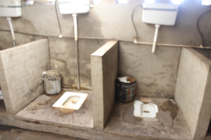 Staff toilets at Sunny Yi Feng